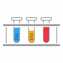 chemical, chemistry, lab, laboratory, science, test, test tubes icon