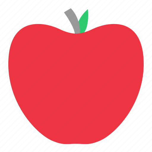 apple, diet, eating, food, fruit icon