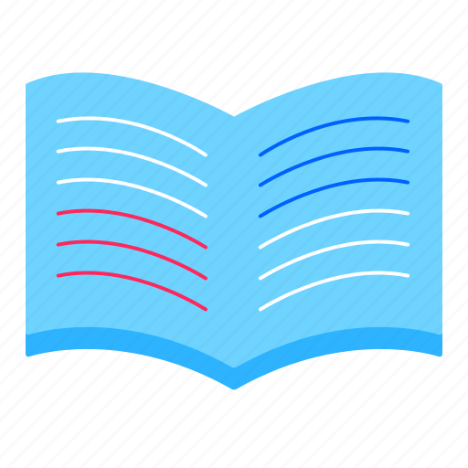 book, education, folder, learning, open, reading, study icon