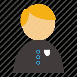 account, avatar, boy, male, profile, student, user icon