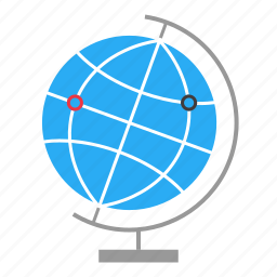 earth, global, globe, internet, network, web, world icon