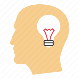 bulb, concept, creative, idea, illuminate, think, thinking icon