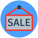 banner, finance, online sale, sale, shopping icon
