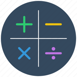 account, accounting, calculations, calculator, finance, math, mathematics icon