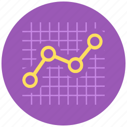 analytics, chart, finance, graph, line graph icon