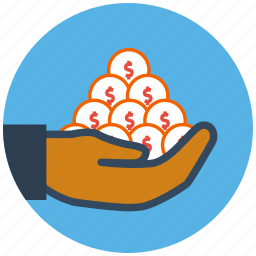 currency, dollar, finance, income, money, savings icon