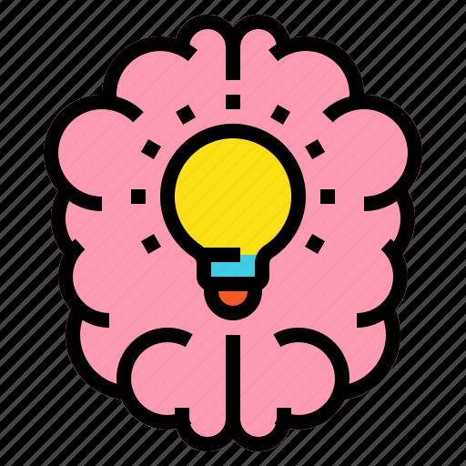 brain, brainstorming, education, idea icon