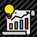 blub, graph, idea icon