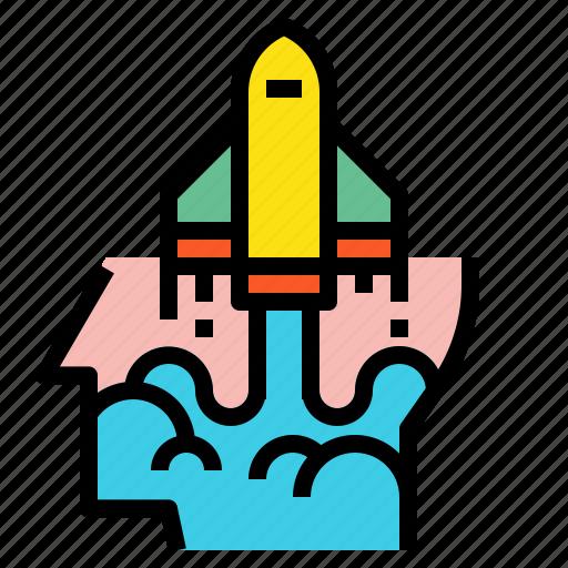 creative, head, idea, pilot icon