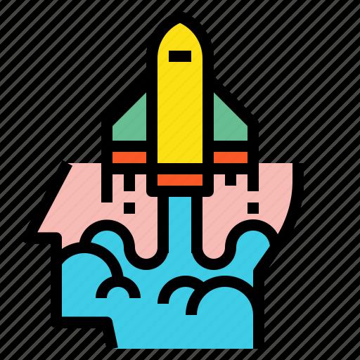 creative, idea, pilot icon