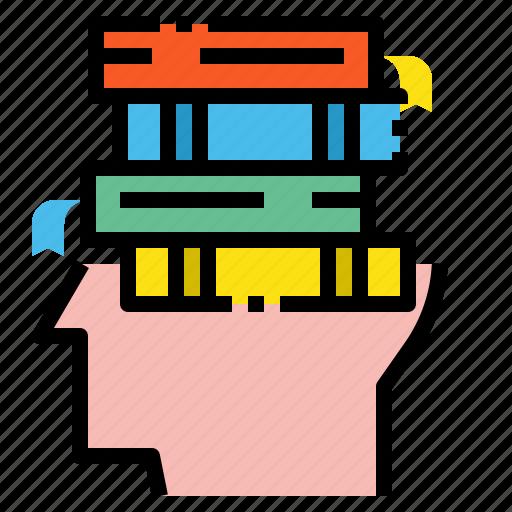 book, creative, idea icon