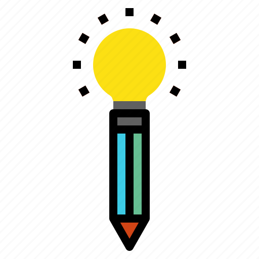 creative, idea, pencil icon