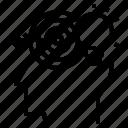 creative, idea, target icon