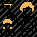 consult, facilitator, meeting, mentor, training icon