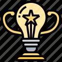 achievement, overcome, reward, success, trophy icon