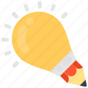 best idea, creative idea, creative writing, creativity, idea inspiration icon