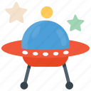 saucer ship, science, spacecraft, spaceship, ufo icon
