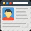 business website design, business website layout, business website template, company website, professional website design icon