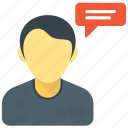 discussion, male consultant, speech, talk, talking person