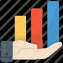analytics, bar chart, bar graph, business growth, statistics
