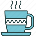 tea, cup, drink, break, relax, take, coffee icon