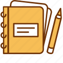creative, drawing, notepad, pencil, sketch, sketching, write icon
