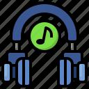 music, listening, auriculars, headphones