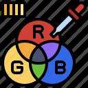 rgb, scheme, edit, tools, miscellaneous, print, products