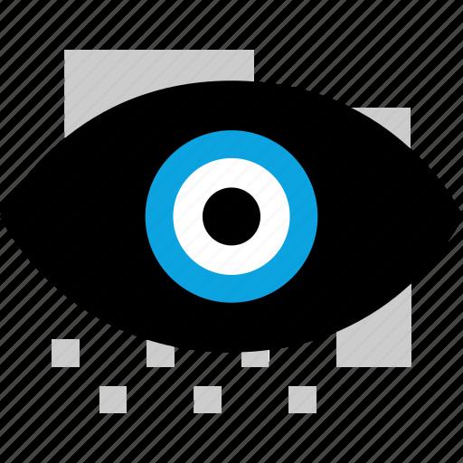 eye, time, view, watch icon