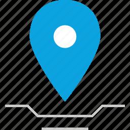 direciton, find, gps, location icon