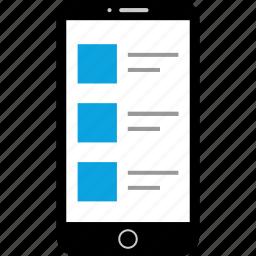 device, internet, mobile, web icon