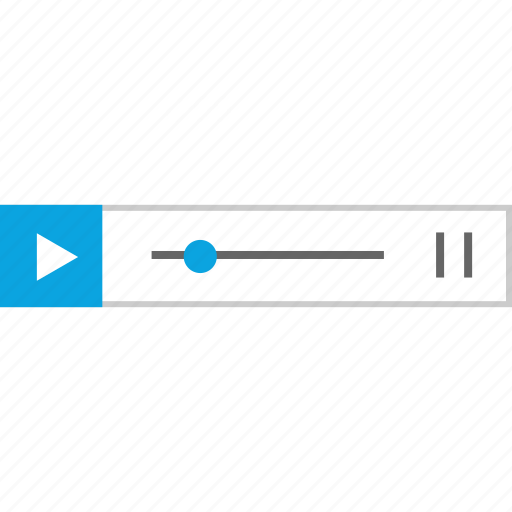 bar, music, player, video icon