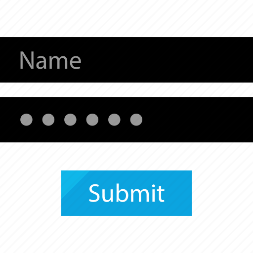 form, online, page, submit icon