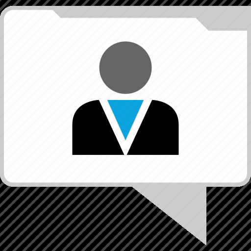chat, conversation, talk, user icon
