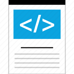 document, form, page, web icon
