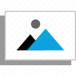 gallery, photo, picture, web icon