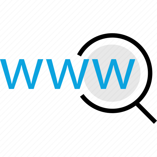 search, web, wide, world icon