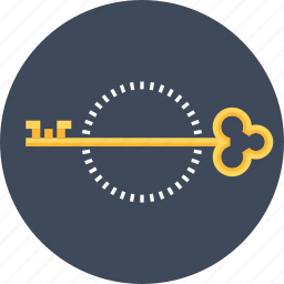 access, key, lock, login, password, security, solution icon