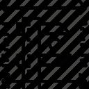 calipers, measure, meter, precise, scale icon