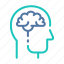 brain, concept, development, idea, process, thinking, thought icon