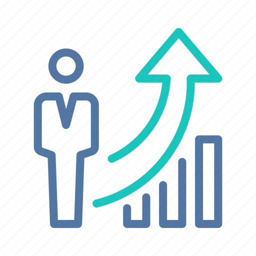 business, growth, investment, motivation, sales, success, successful icon