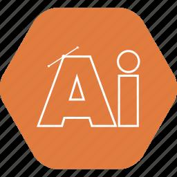 design, illustrator, software icon icon