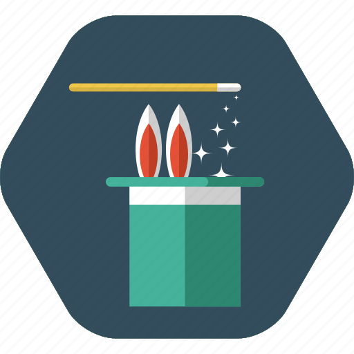creativity, design, designer, magic, magic wand, magician, wand icon icon