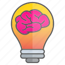 brain, creativity, idea, intelligence, knowledge icon