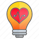 cardiogram, creativity, idea, intelligence, knowledge icon