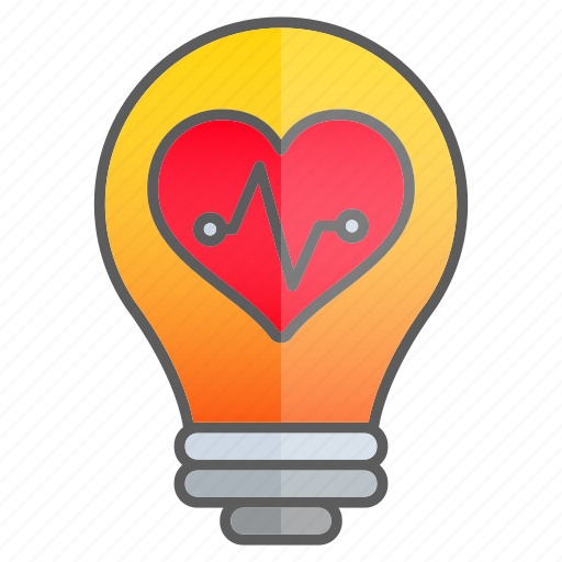 cardiogram, creativity, idea, intelligence, knowledge icon