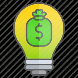 business, cash, creativity, finance, idea, intelligence, knowledge icon