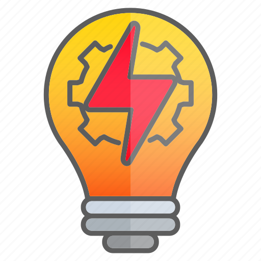 creativity, fast, gear, idea, intelligence, knowledge, light icon