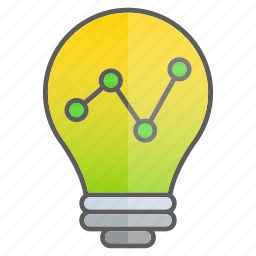 business, creativity, diagram, graph, intelligence, statistics icon