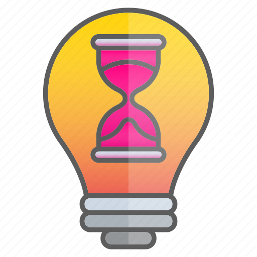 business, creativity, glass, hour, idea, intelligence, knowledge icon